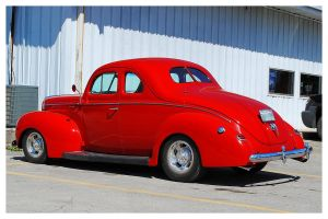 Sharp Red Ford Deluxe by TheMan268