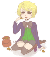 Alois The Biscuit Theif by MagicalSockOfMagic