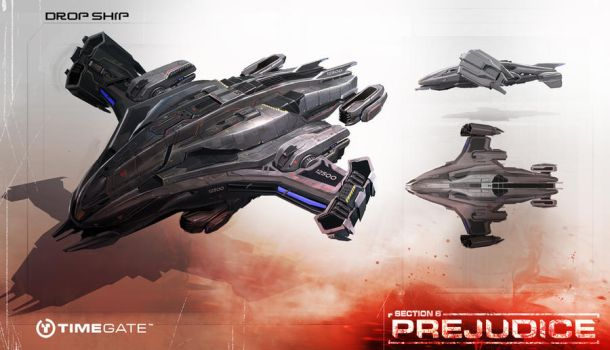 dropship concept by neisbeis