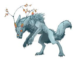 Treeskull dog by Overlord-Jinral