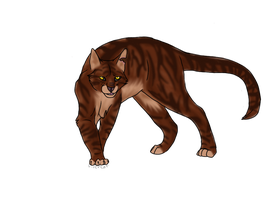 Tigerstar Finished by FirehCat