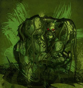 swampthing by MR-CRICKETS