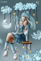 It's Only a Paper Moon by iKiska