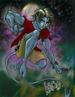 Nightcrawler by inkjetcanvas