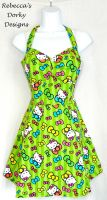 Hello Kitty dress by imaxxstarfish