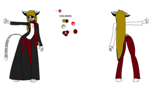 .:Hana Aspen Official Fursona Reference:. by The-Insane-Puppeteer