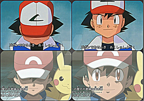 Present and Past Ash~Pose by TheKalosQueenSerena