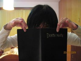 The Death Note by Heba-chan