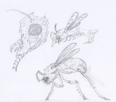 Bug Sketches by Siptec