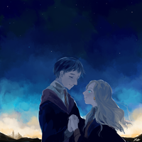 Neville and Luna by noristar
