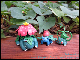 Bulba Family by Dragina-Draona