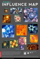 Influence Map by Annissina