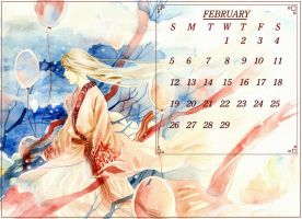 Calendar 2012 - February by sinvia