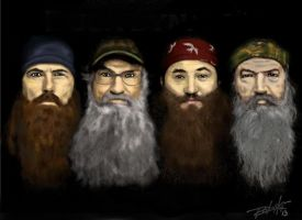 Duck Dynasty by MRoboski