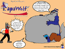 Papawolf comic 18 by NightCrestComics