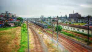 JR East E531, Shimodate by ToniBabelony