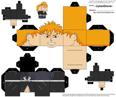 Cubee - Ichigo 'Bleach' by CyberDrone