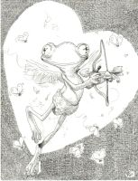 Cupid Frog by FayLady
