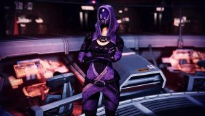 Tali'Zorah vas Normandy 19 by johntesh