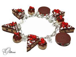 Berries in chocolate by OrionaJewelry