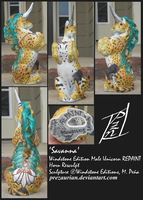 'Savanna' Windstone Edition Male Unicorn REPAINT by prezaurian