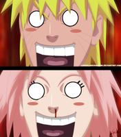 Naruto and Sakura perverts by LiderAlianzaShinobi