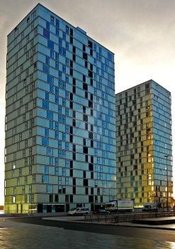 Almere Side by Side Flats by Heckenshutze