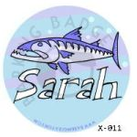 Sarah Barracuda Button by Conservatoons