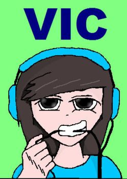vic fuentes by darkdoodler1