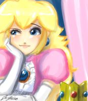 Think Peach by johnjoseco