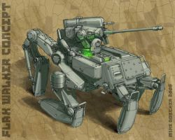 Flak Walker by MikeDoscher