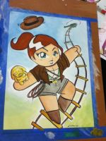 Lady Indiana Jones by ChibiCelina