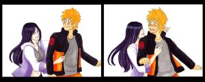 Road to Ninja - Naruto and Hinata by Hanahi-chan