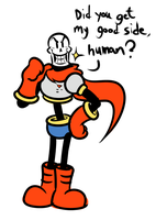 A Papyrus Doodle by JamesmanTheRegenold