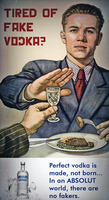 Absolut Vodka Ad: Steak Dinner by MrAngryDog