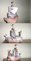 My Going Merry PaperCraft by ZeroBR