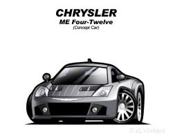 Chibi Chrysler ME Four-Twelve by CGVickers