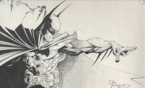 Oooold Batman sketch by TimTownsend