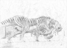 t-rex payback-not complete2 by ebelesaurus