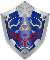 TP Hylian Shield by BLUEamnesiac