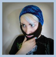 Crochet Beard Hat by Ashler-Sauce
