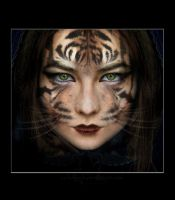 Lady Tigress by HaraBagha