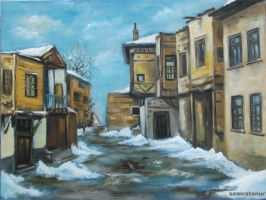 oil painting.. by rengarenk