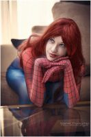 Mary jane watson cosplay Spiderman  mj by GhiandaiaCosplay