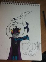 Eridan and his Lusus by s0gay