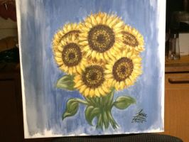 Sunflowers My Love by Samantha484