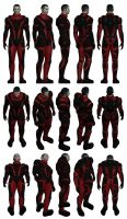 Mass Effect, Colossus Armour Light, Male Ref. by Troodon80