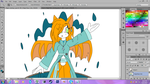 .:Coloring Tall Fidget:. by Girly-Dust-Artist