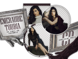 Png Pack 553 //  Emeraude Toubia by confidentpngs