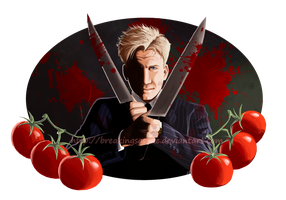 Gordon Ramsay's Knife Party by BreakingSasuke